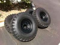 I am selling a set of 4 Military Goodyear Wrangler RTII