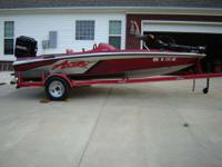 92 Astro 17 1/2 ft Bass Boat w/115 Mercury and Astro