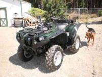 2007 Yamaha Grizzly 700 ELECTRIC POWERED