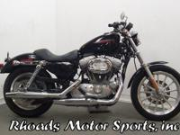 2007 Harley Sportster XL883 with 3,510 Miles.This is a