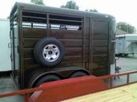 Brand New 2012 Calico 2 Horse Slant Combo bumper bull