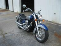 2009 Honda Shadow VT 750 Aero with 1,004 mis -Priced at