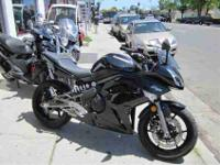 2009 KAWASAKI NINJA 650R, Metallic Diablo Black, more