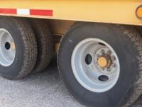 Up for sale is a used 2007 Belshe trailer model DT-22.