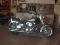 2001 Kawasaki Vulcan Classic in exceptional condition.