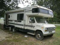 1989 HOLIDAY RAMBLER IMPERIAL RV MOTORHOME 27' C CLASS
