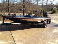Super clean 17ft bumble bee with around 150 hrs a boat