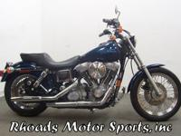 1998 Harley Super Glide FXD with 4,670 Miles.A nice
