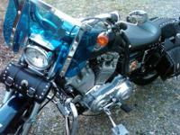 2003 Harley Davidson Sportster Hugger 883, 100th