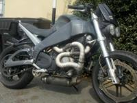 An American Beauty.....2004 Buell Lightning XB 12S,