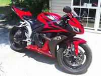 I have a 2008 CBR 600RR with 12k miles on it. It has a