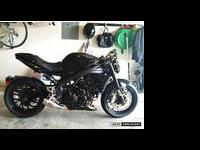 2009 Triumph Speed Triple 1050, including Competition