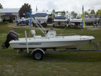 For sale is a very clean Aquasport 165 Osprey with a