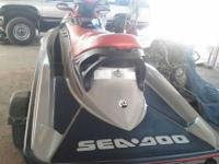 2005 Sea Doo model RXT. It has 215 horsepower, and is