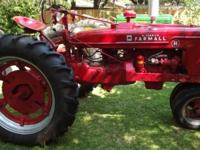 McCormick Farmall H 1951 International Harvester Row