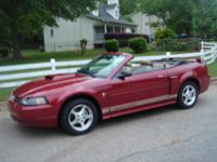 I HAVE FOR SALE IS MY 2002 FORD MUSTANG WITH 88K MI.