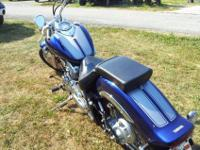 2008 1100 V Star Custom motorcycle ONLY 4000 miles
