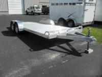 2012 all aluminum ATC open car hauler. These trailers