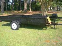 heavy duty trailer (6 inch channel) new fenders,new