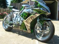 custom built 2007 Honda CBR 1000RRAward winning, custom