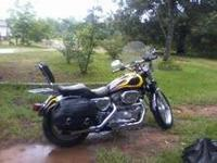 This bike runs awesome with all leather saddlebags,
