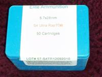 New factory sealed box of 50 rounds of Elite Ammunition