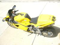 2001 Ducati 748 superbike with 12155 miles rides LIKE