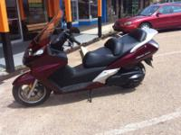 We have a 2009 Honda Silverwing 600 for sale. This bike