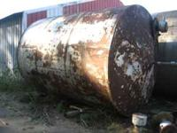 1 -- 5,700 Gallon Vertical Fuel Tank. Great shape NO