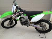 2011 Kawasaki KX450F for sale. $5,700.00. Bike was