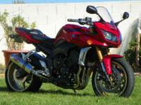 For sale is my 2008 Yamaha FZ1, Garage kept, and not a