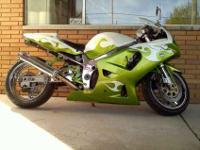 I have a 2003 GSXR 750 that is lowered 1.5 in rear 2 in