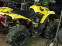 I have a 2007 Can-Am Renegade 800 for sale or trade. It