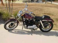 71 Harley Davidson 900 IRON Head Sportster custom, only