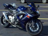2007 Suzuki GSXR 750 hard to find sought after