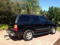 Selling an excellent condition 2001 black Chevy Tahoe