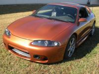Mitsubishi Eclipse 1995 Gsx 5 Speed Awd. This is