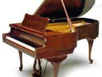 Liquidation! Beautiful Charles Walter artist baby grand