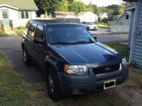 Asking $5,900 or best offer. - 2001 Ford Escape XLT -