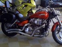 For sale is a 2006 Honda VTX 1300 C with 8,300 miles.