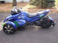 This is my CanAm RSS spyder. The bike runs and drives
