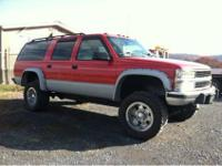 "I have a lifted 1994 suburban 2500 with 18"" wheels,"