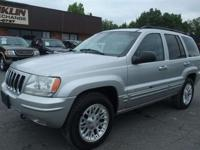ONE OWNER 2002 JEEP GRAND CHEROKEE LIMITED.LEATHER