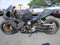 STRETCHED ZX-10. CRAZY FAST. JUST NEEDS HEADLAMP TO