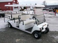 2009 Club Car Villager, 6 Passenger, Gas Golf Cart,