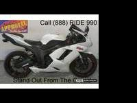 2007 used Kawasaki Ninja ZX6R crotch rocket for sale -