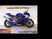 2008 Used Yamaha R-6 For Sale - Only $5,999.00!! Yamaha