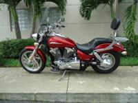 Summer Special , 2009 Honda VTX 1300C . This is a great