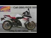 2010 used Yamaha FZ6R sport bike for sale with only