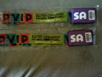 I have 5 VIP All Access passes for sale for tomorrows